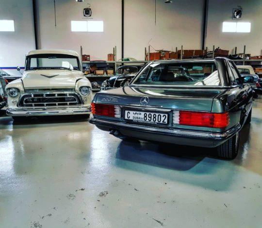 Classic Cars Dubai UAE