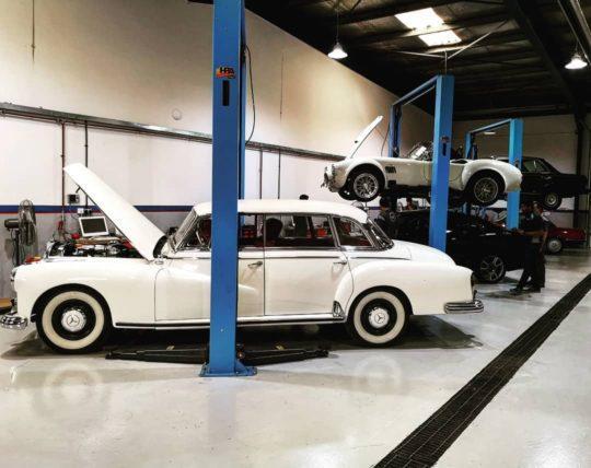 The Collectors' Workshop Classic Cars Dubai UAE