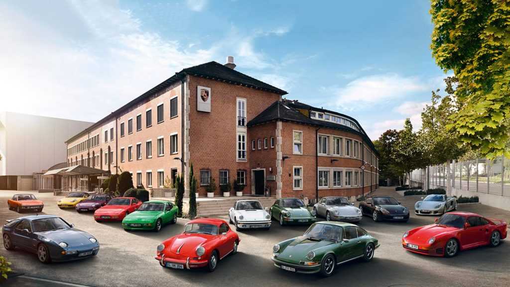 Porsche Anti Theft Devices