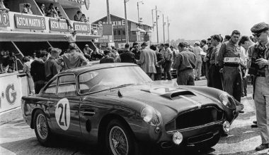 Aston Martin Works And The DB4 GTS