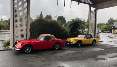 Our Restored Daimler Darts Are Enjoying Their Time In New Zealand